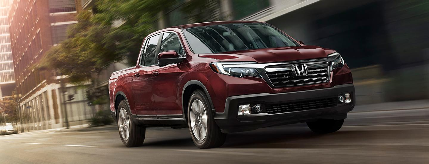 2020 Honda Ridgeline in motion