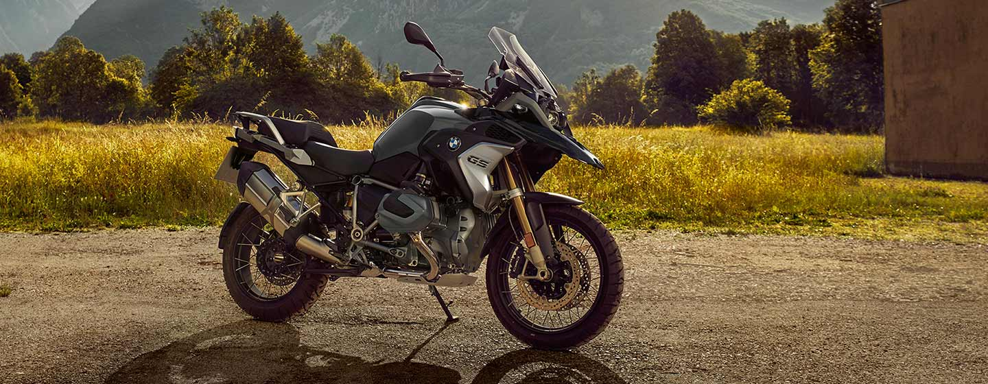 2019 BMW R 1250 GS parked