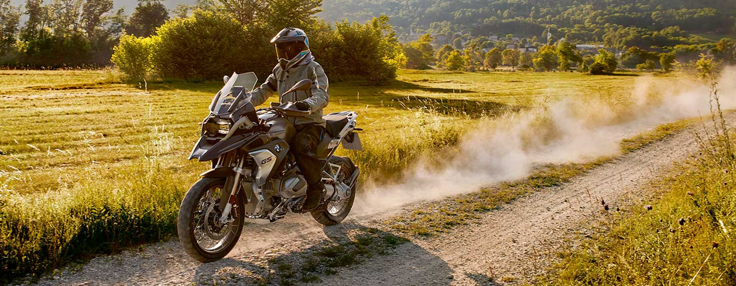 2019 BMW R 1250 GS in motion