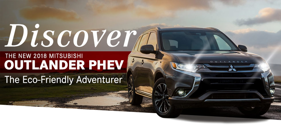 Discover New 2018 Mitsubishi Outlander Phev The Eco- Friendly Gray