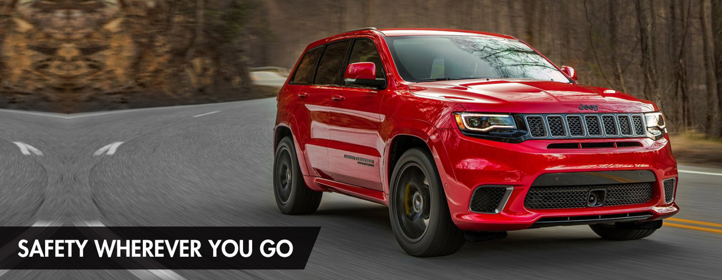 2019 JEEP GRAND CHEROKEE SAFETY AND SECURITY