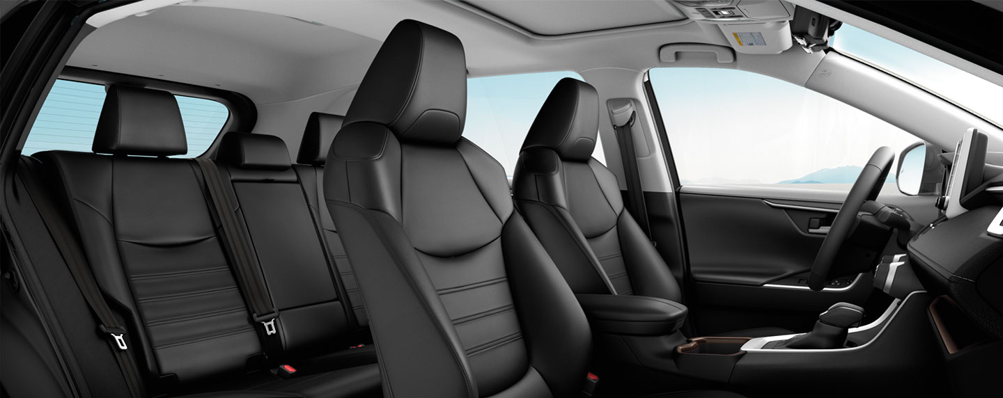 Compare the interior & safety features of the 2019 Toyota RAV4 & the Honda CR-V at Rivertown Toyota.