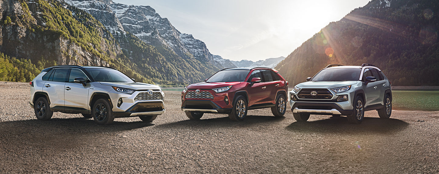 Compare the 2019 Toyota RAV4 to the Honda CR-V at Rivertown Toyota in Columbus, GA