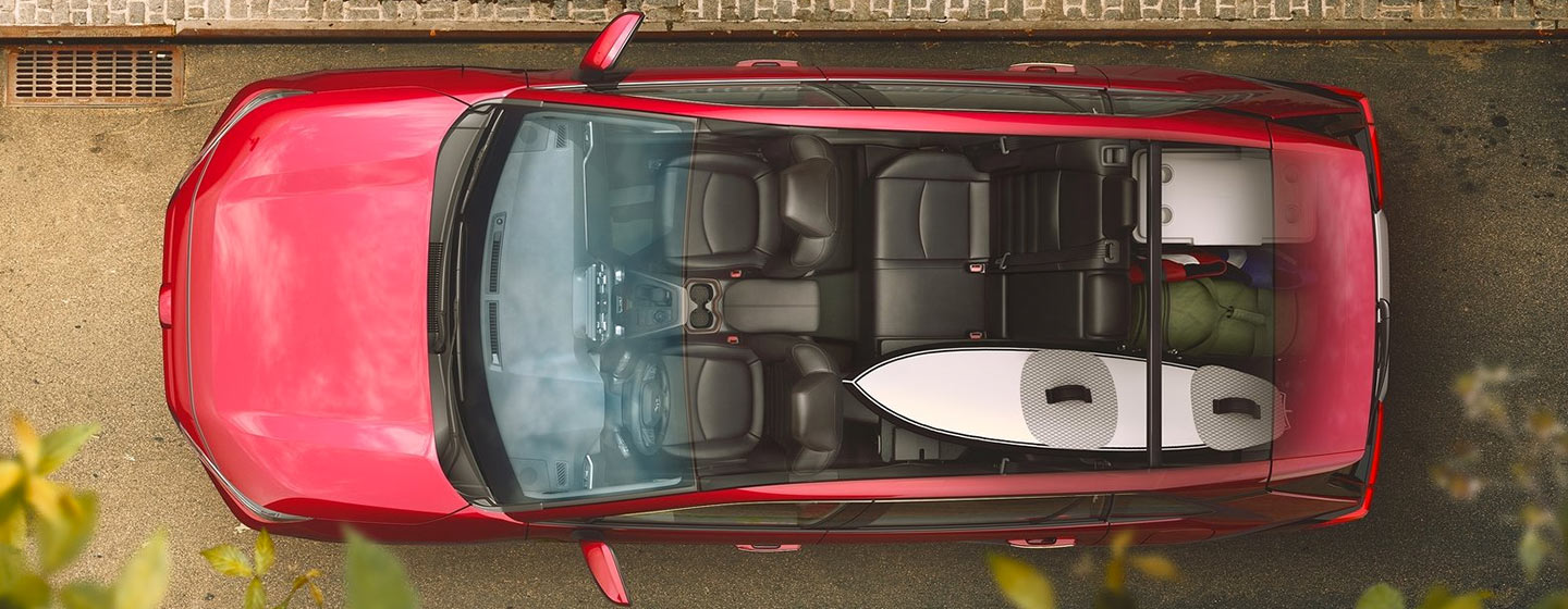 2019 Toyota RAV4 Exterior - Top - Roof and Interior View