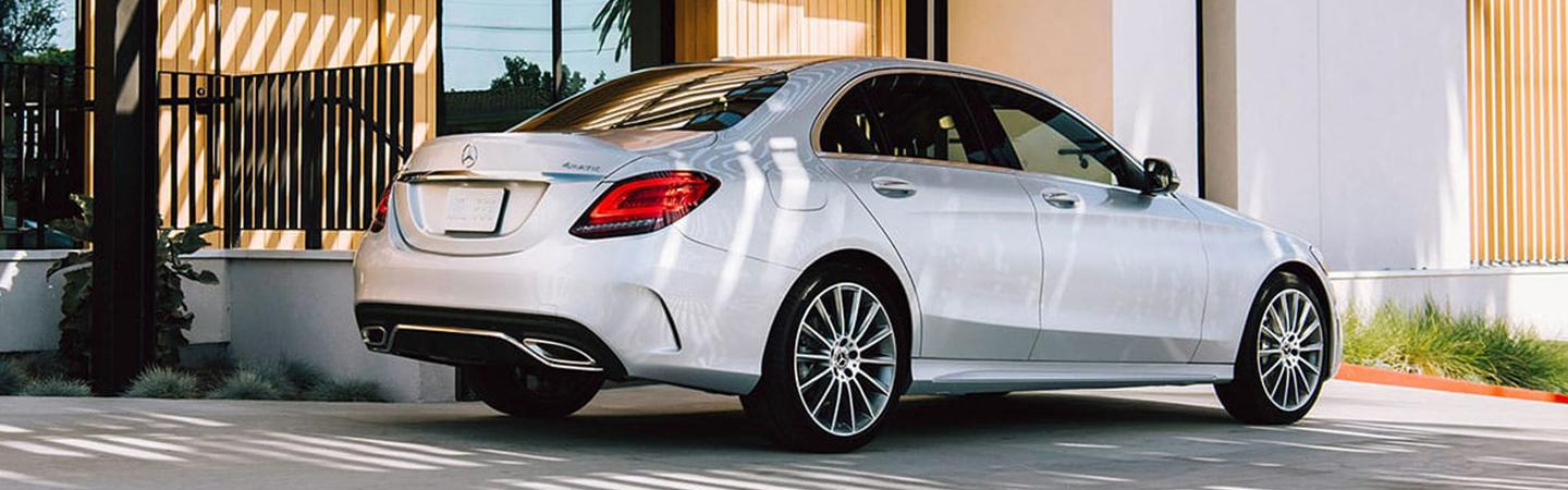Rear Passenger view of the 2020 C-Class