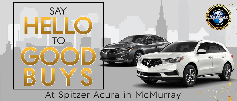 Spitzer Acura Savings