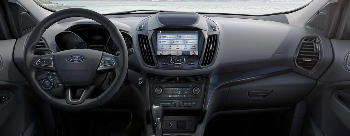Safety features and interior of the 2019 Ford Escape - available at our Ford dealership near Grand Rapids, MI