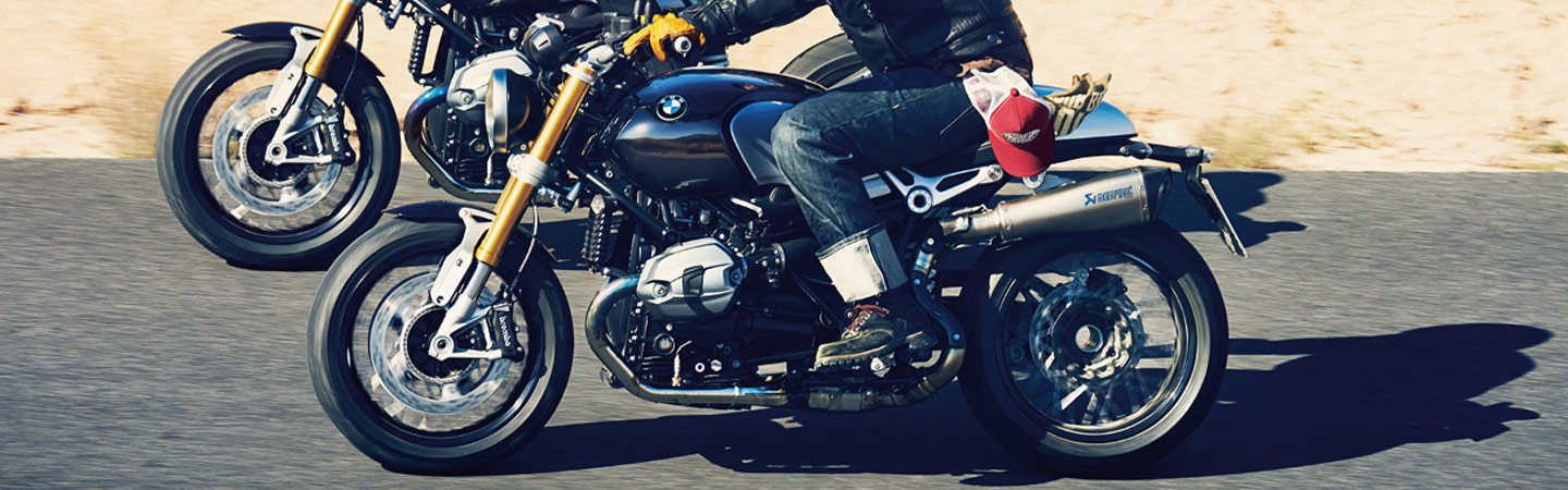 2019 BMW R nineT in motion