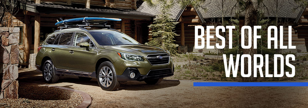 Exterior of the 2018 Subaru Outback at Groove Subaru of Silverthorne near Frisco, CO