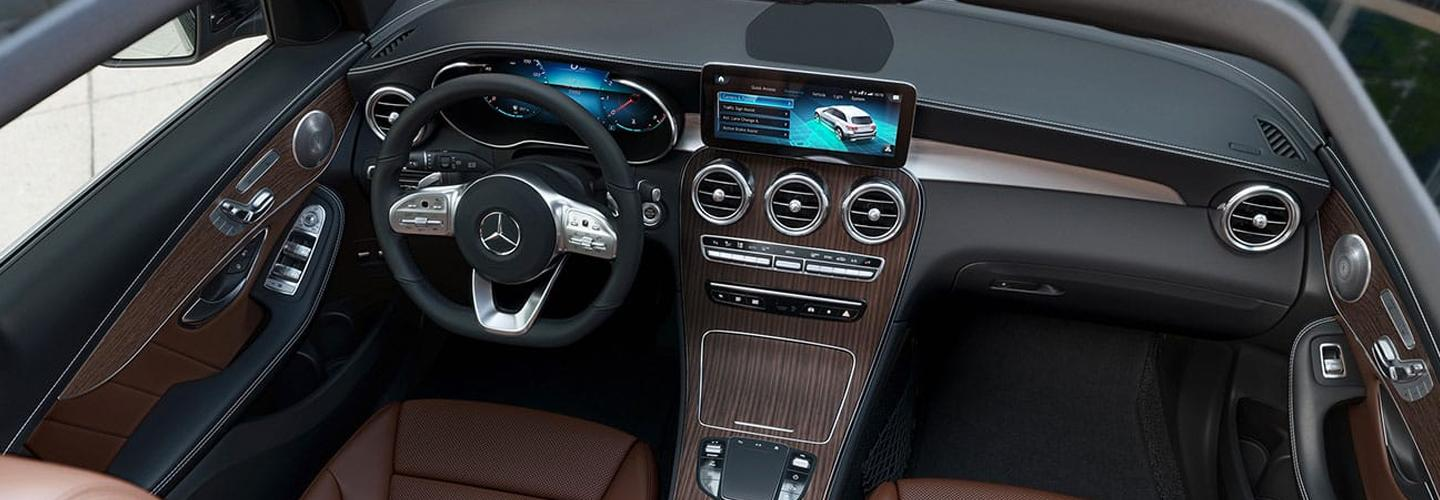 Interior view of the 2020 Mercedes-Benz