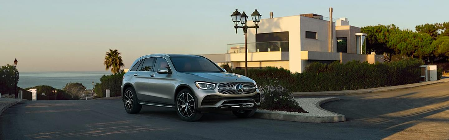 2020 Mercedes-Benz parked near the ocean