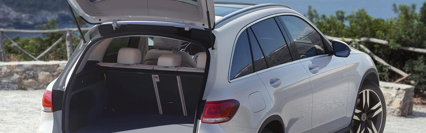 Trunk cargo space for the 2020 Mercedes-Benz