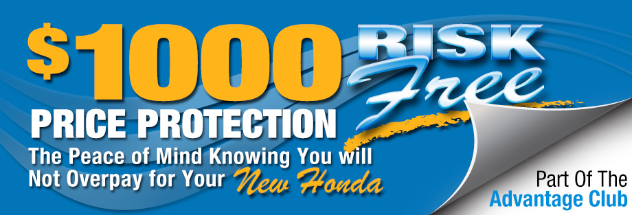 Price Protection at Brandon Honda