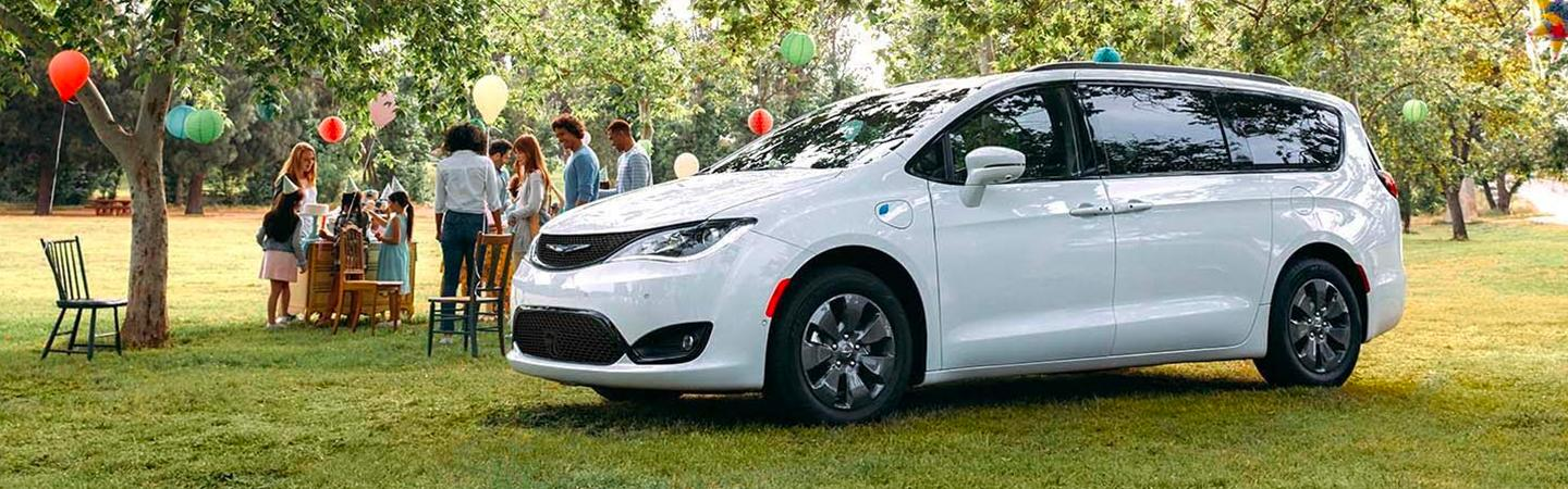 2020 Pacifica at an outdoor even