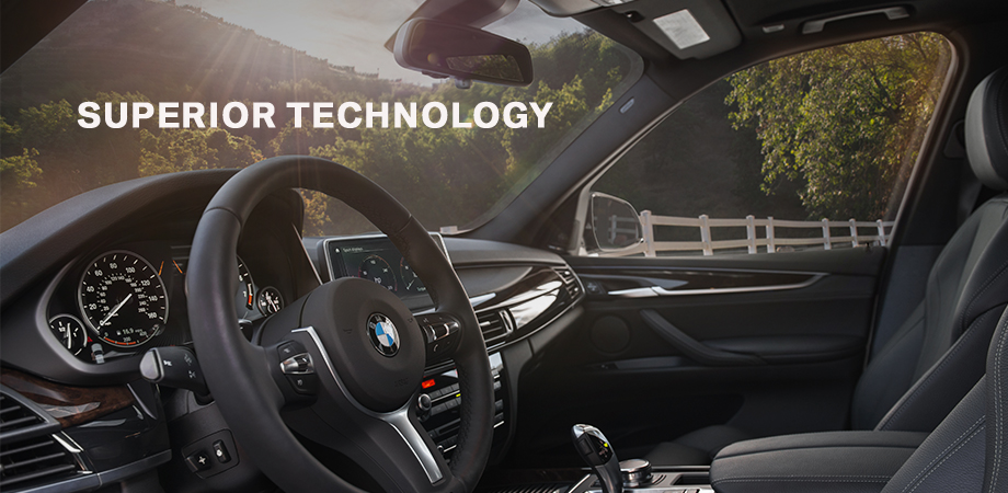 Safety features and interior of the 2018 BMW X5 - available at BMW of Lafayette near Crawfordsville and Frankfort, IN
