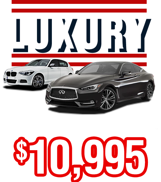 Luxury From Only $10,995