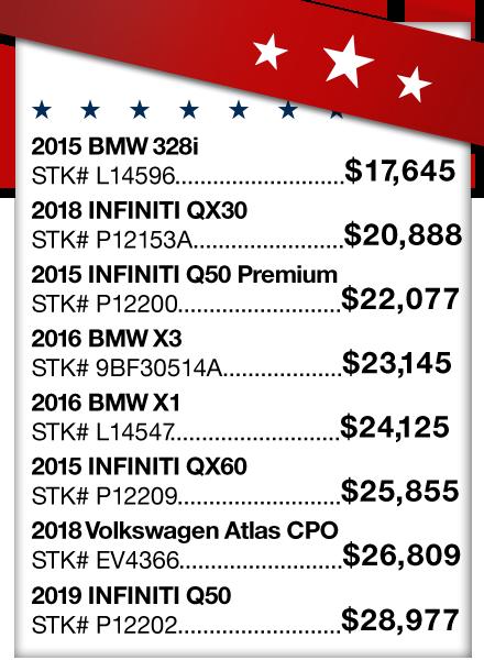 Vehicle Price Sheet 2