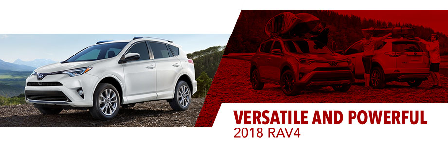 The 2018 Toyota RAV4 is available at Toyota of Rock Hill in Rock Hill, SC