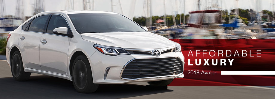 The 2018 Toyota Avalon at Lipton Toyota in Fort Lauderdale, FL