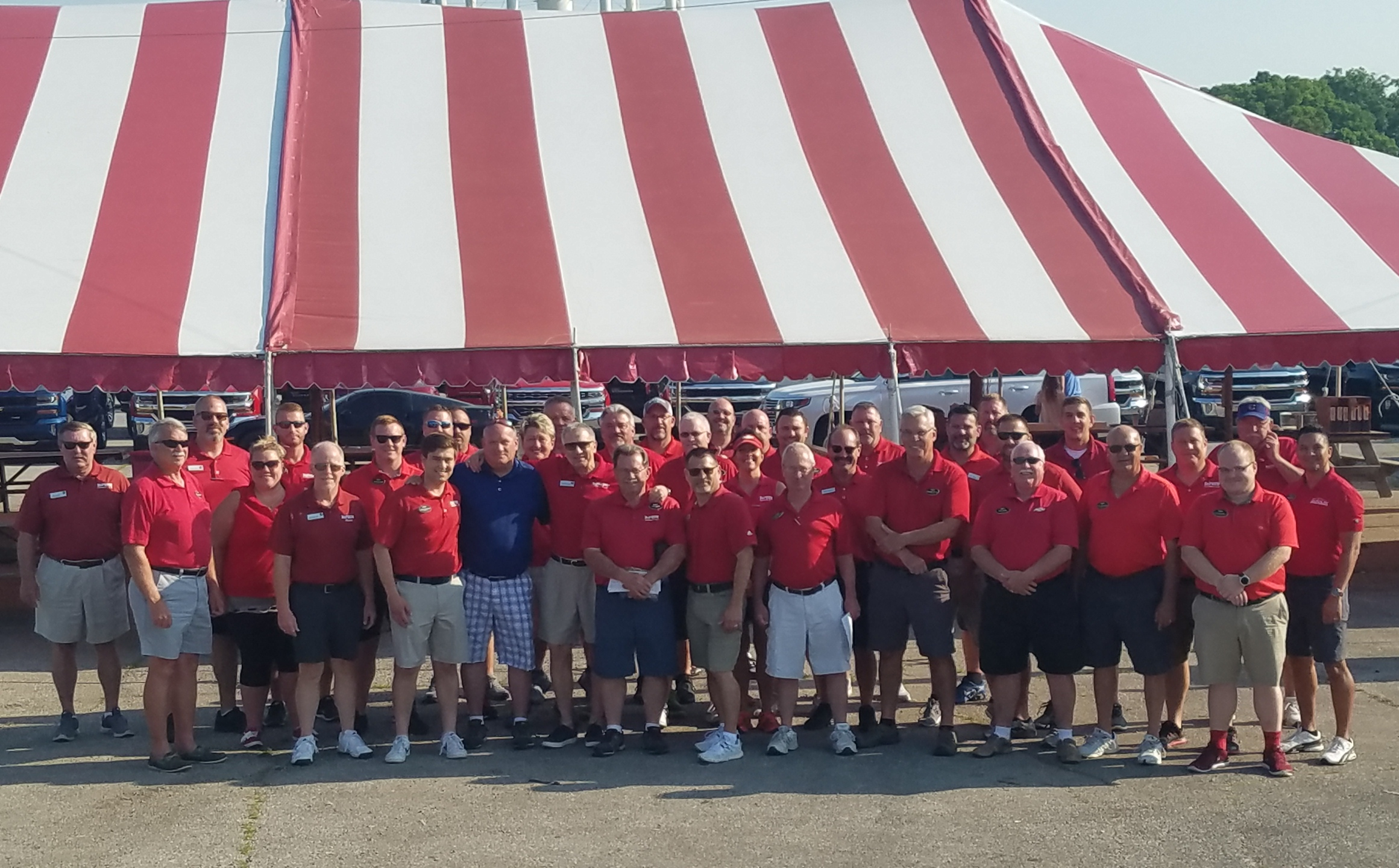The DeFOUW Automotive 51st Annual Tent Sale in Lafayette, IN
