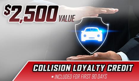 collision loyalty credit