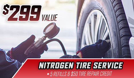 nitrogen tire car service