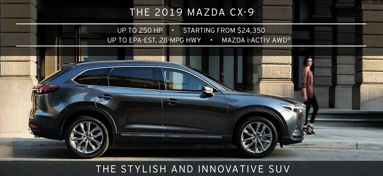 2019 MAZDA CX-9 BOB MOORE MAZDA OKLAHOMA CITY OKLAHOMA