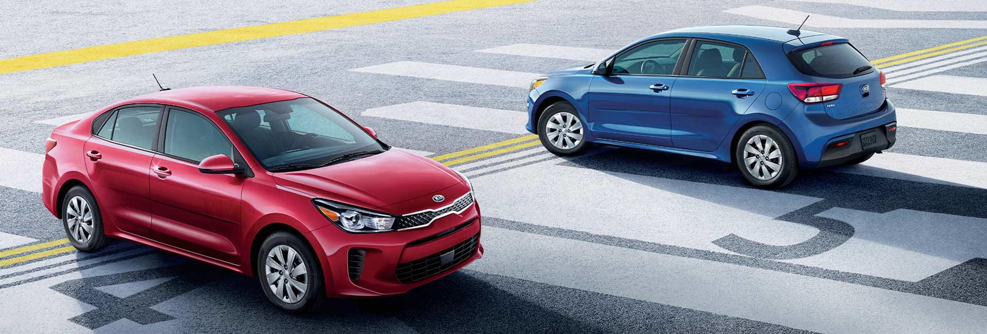 Picture of the 2020 Kia Rio for sale at Spitzer Kia Mansfield Ohio