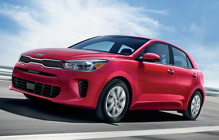Exterior of the 2020 Kia Rio