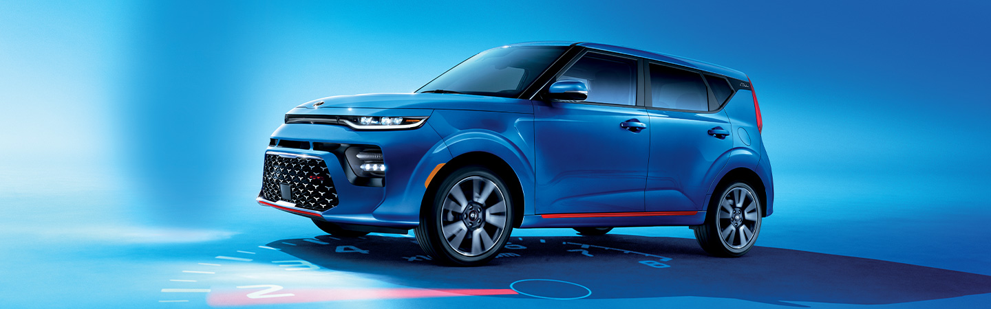 Picture of the exterior of the 2020 Kia Soul at Spitzer Kia Cleveland