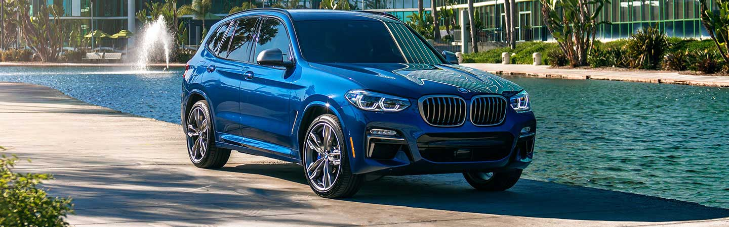 Exterior of the 2019 BMW X3 at Santa Monica BMW