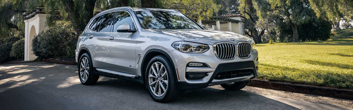 Exterior of the 2019 BMW X3 at our Santa Monica car dealership