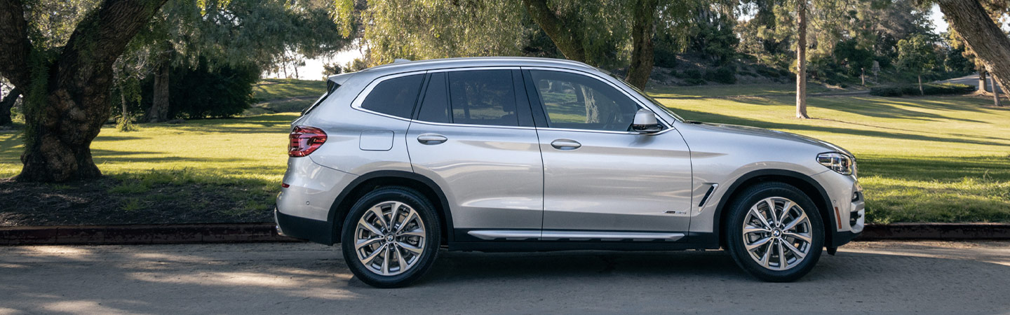 Exterior of the 2019 BMW X3 at our BMW dealer in Santa Monica, CA