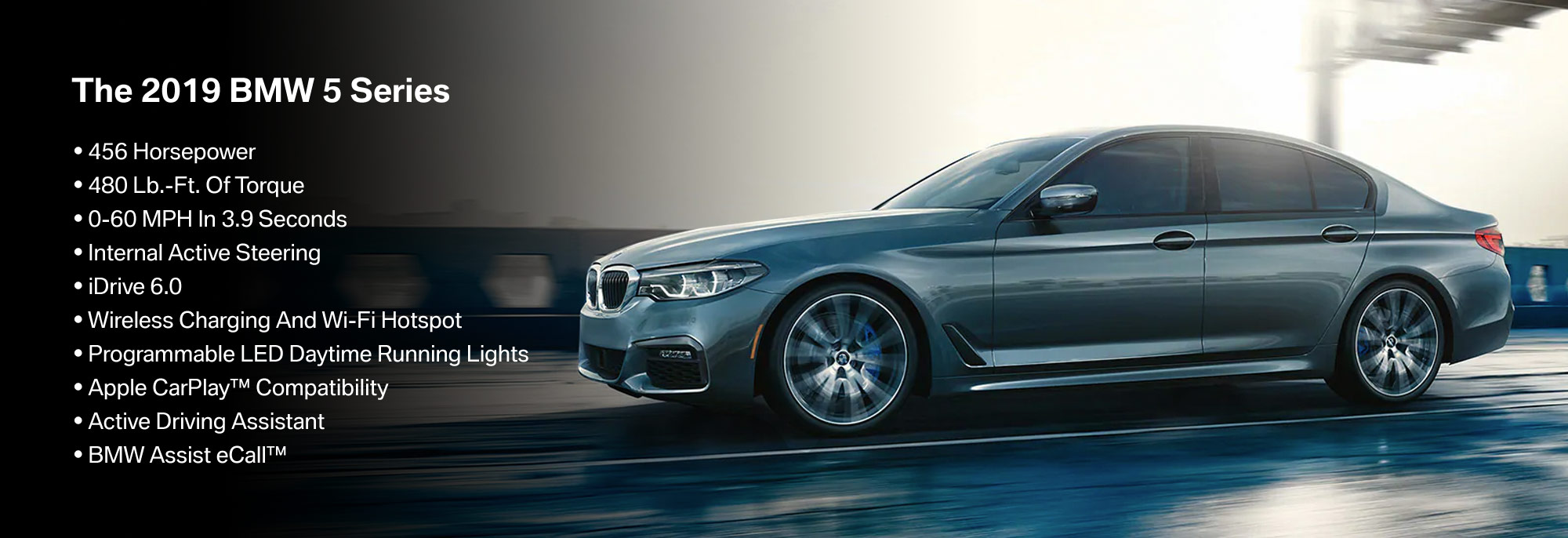 New 2019 BMW 5 Series Offer