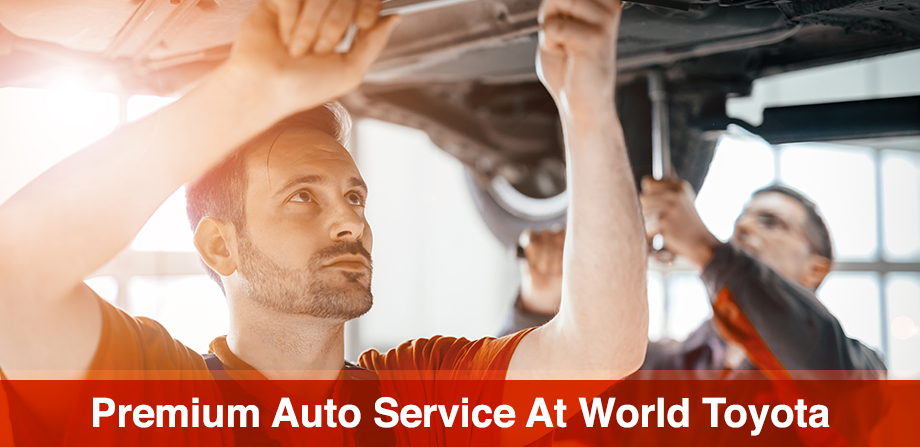 The World Toyota Service Center is in Atlanta, GA