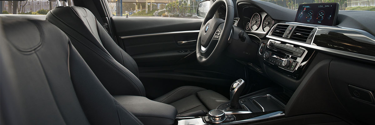 Safety features and interior of the 2018 BMW 3 Series - available at Hilton Head BMW in Hilton Head near Bluffton, SC