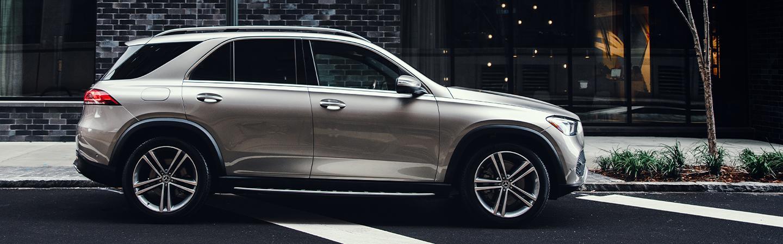 Mercedes-Benz GLE parked