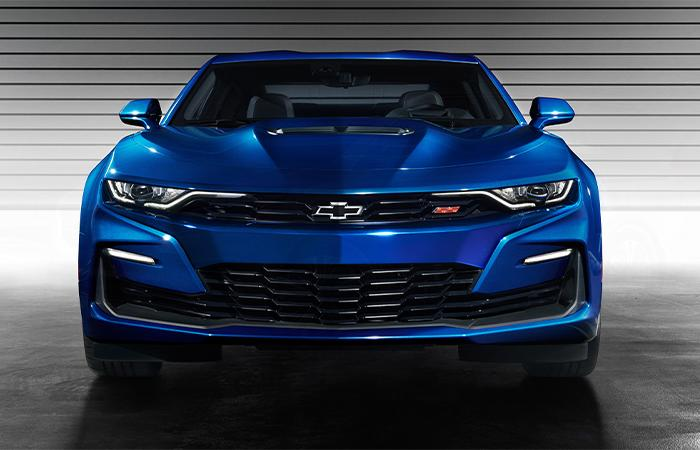 Picture of the exterior of the 2020 Chevy Camaro