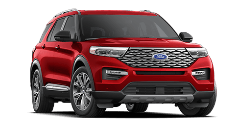Red Ford Explorer