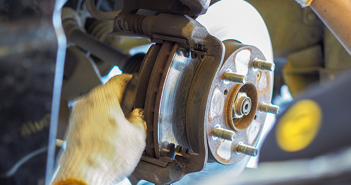 brake service at Tri-State Nissan in Winchester Virginia