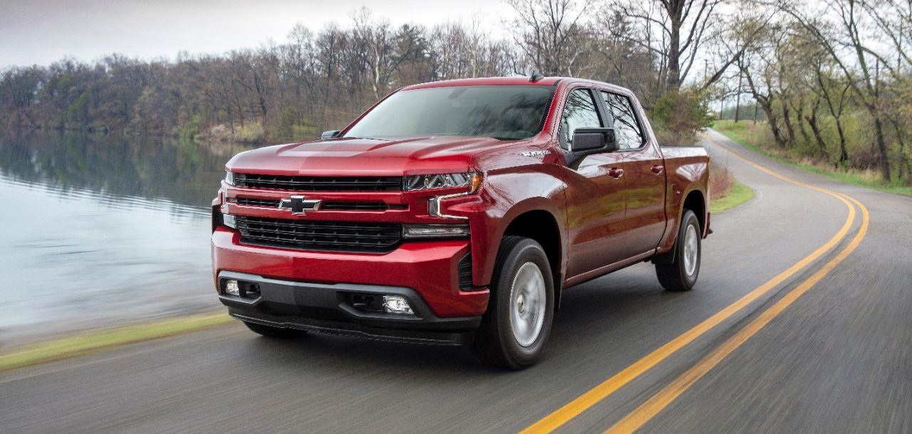 The 2019 Chevy Silverado 1500 in Lafayette, IN.
