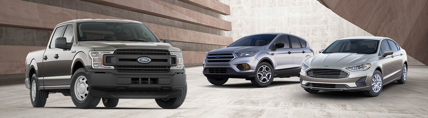 Model lineup of Ford vehicles available at our Ford dealer in Indianapolis, IN