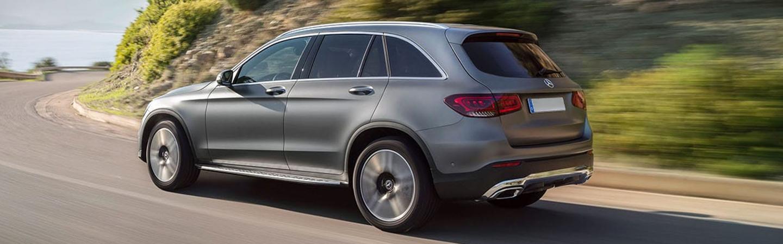 Mercedes-Benz GLC in motion