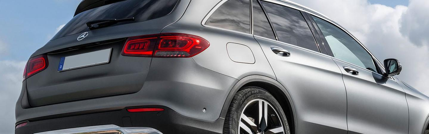 Rearview of the 2020 GLC