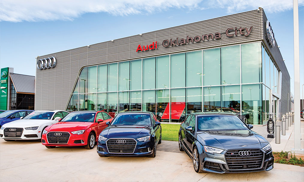 The Audi Oklahoma City Dealership is available to drivers from Edmond and Norman, OK.