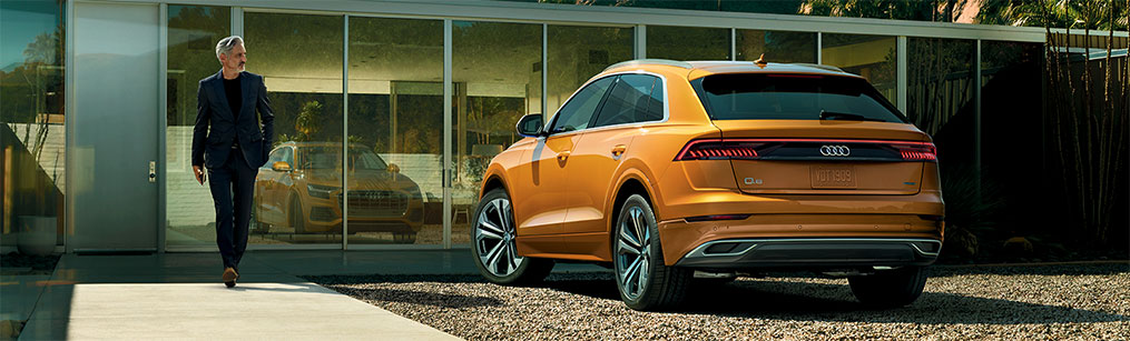 Exterior of the available Audi Vehicle line up at Audi Oklahoma City near Norman and Edmond, OK