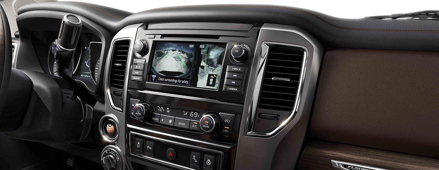 Explore technology features of the 2019 Nissan Titan at our Nissan dealer near Oklahoma City, OK.