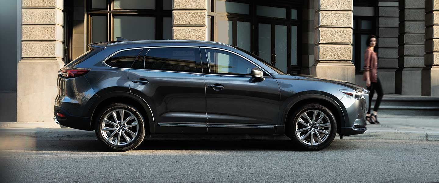 The 2019 Mazda CX-9 is available at our Mazda dealership in Naples, FL.