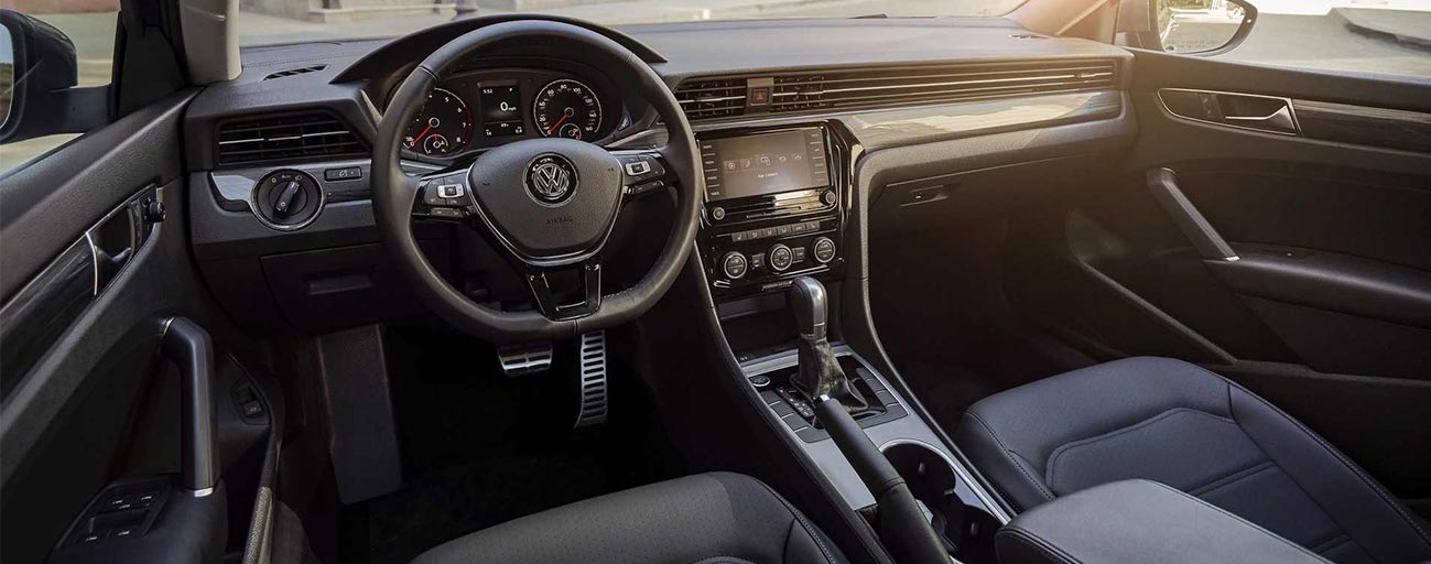 Safety features and interior of the 2019 Volkswagen Passat - available at our Volkswagen dealership near Ocala, FL.
