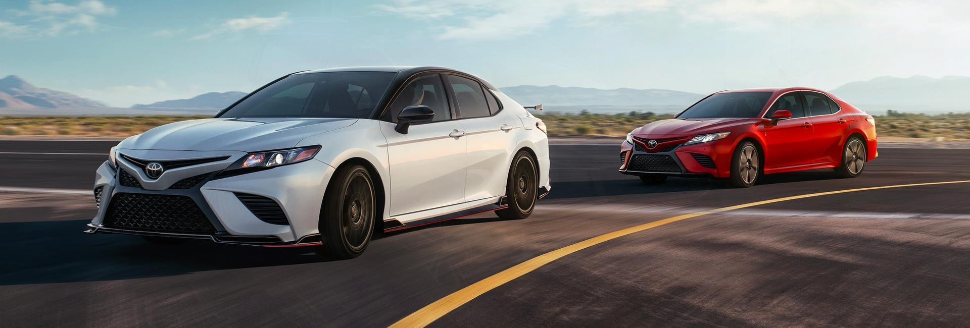 Picture of the 2020 Toyota Camry for sale at Spitzer Toyota Monroeville PA